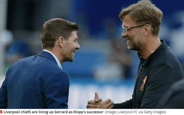 原创             英媒:克洛普今夏或执教德国队 杰拉德重返利物浦