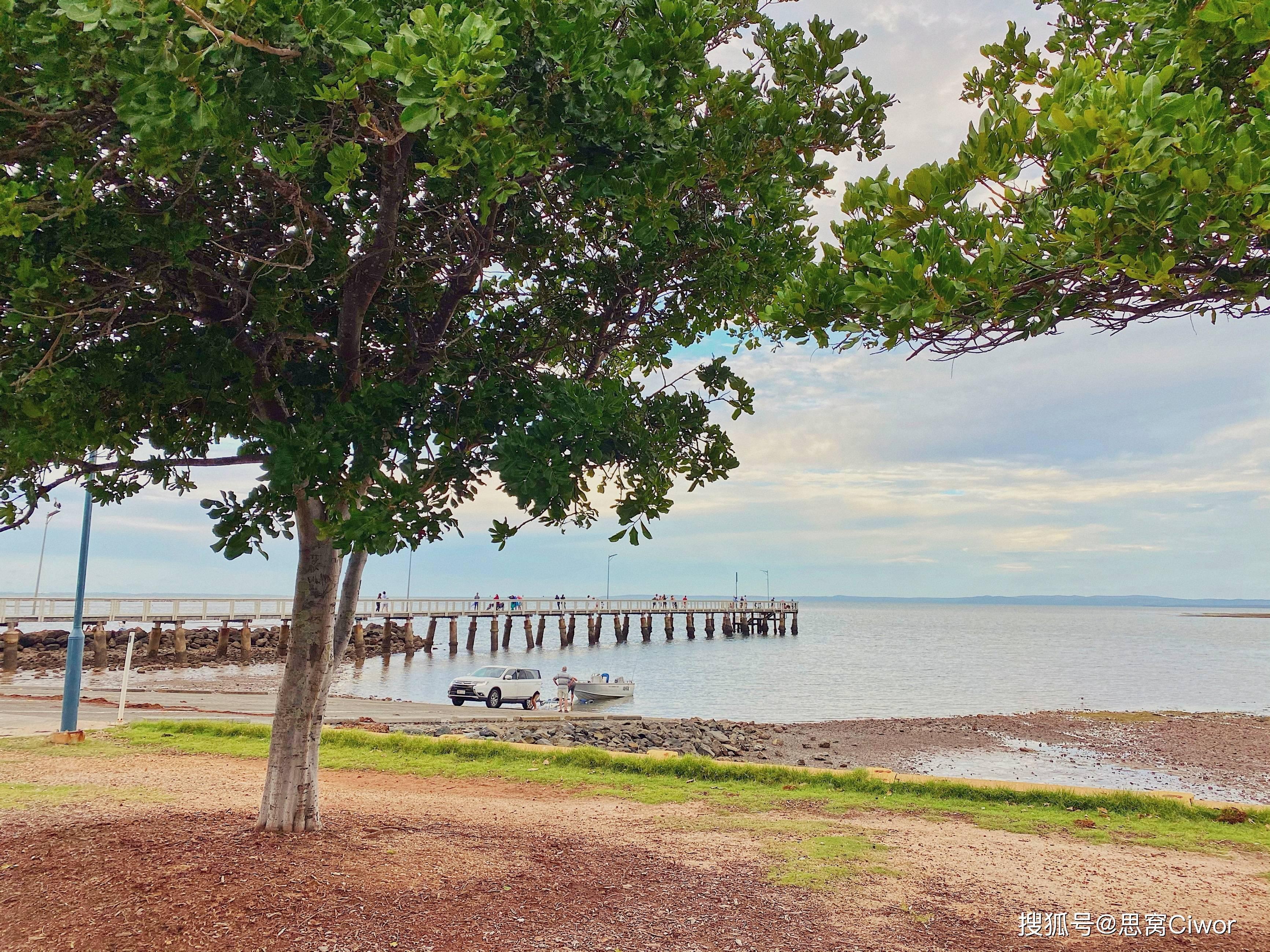 思窝Rachel:布里斯班惠灵顿,漫步在延绵的海岸线欣赏夕阳