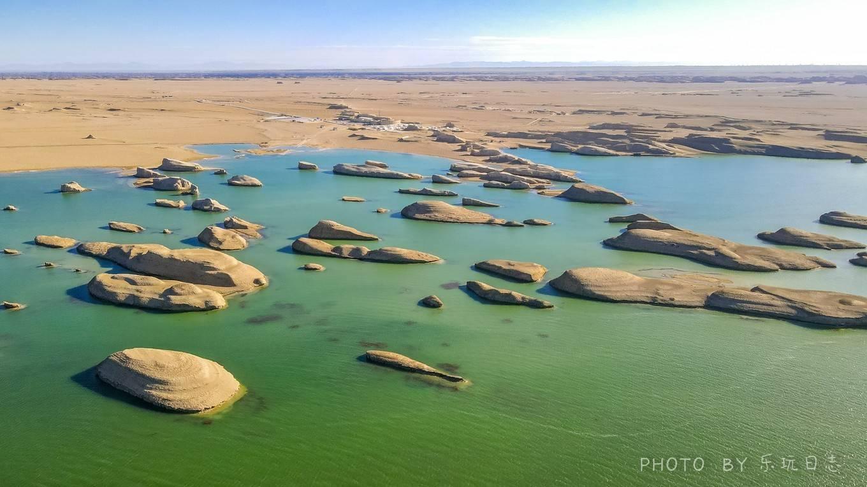 西北旅游必去景点,水上雅丹,形成原因竟是这样