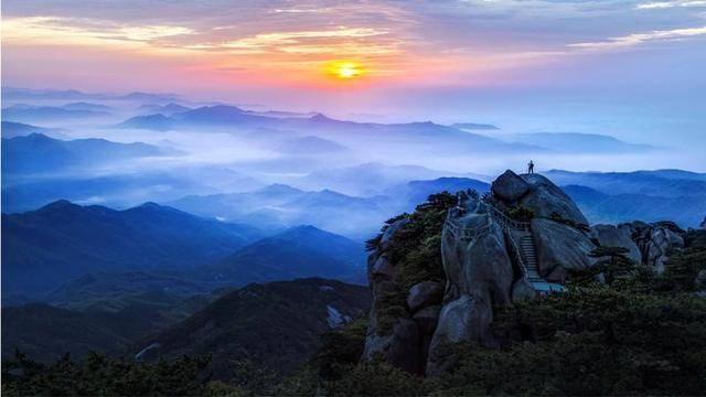 如果你不懂欣赏天柱山的美,那我就不推荐你来海心谷