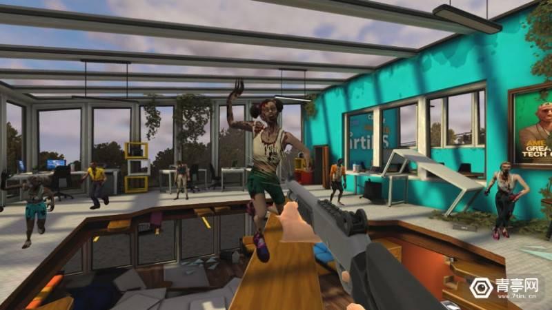 原创             基于索尼电影《僵尸之地》,XR Games发布新款VR射击游戏