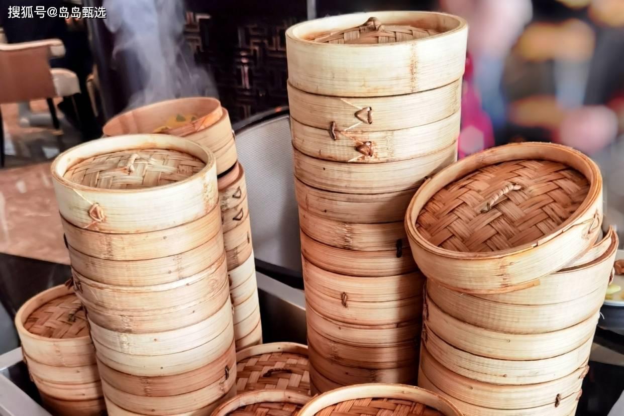 青岛一周只营业2天的自助早茶店,广式美食多达60种,人均100+