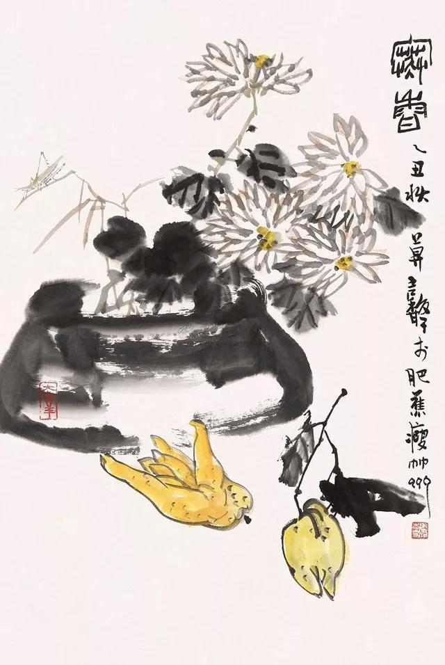 张继馨:19岁学画,90多岁依然每天为画画拼搏