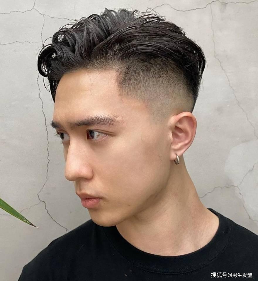 今东盛行这8款男生发型,清新时髦又帅气,学生