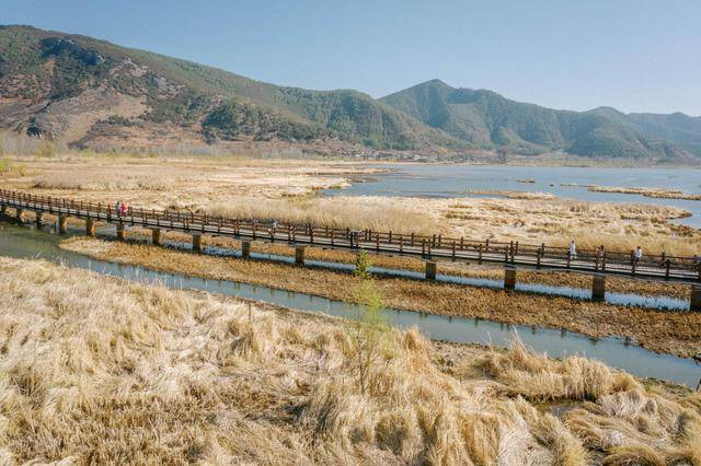 泸沽湖走婚桥,每个人都应该来走一下,象征爱情,美美满满