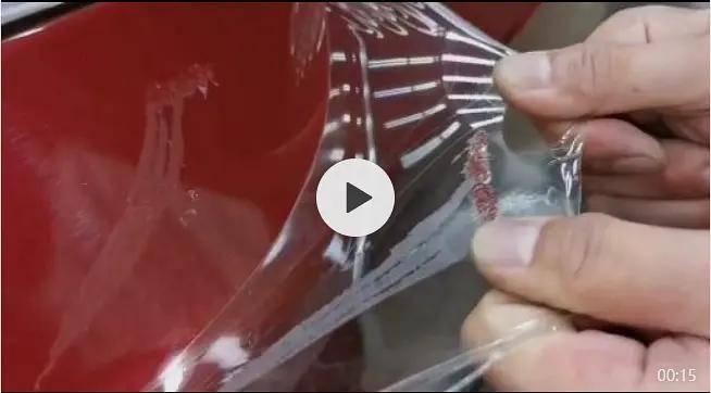 隐形车衣撕膜掉漆,到底是谁的锅?