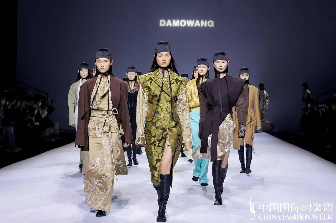DAMOWANG·韩磊 2021秋冬系列——时装T台上的摩登游侠
