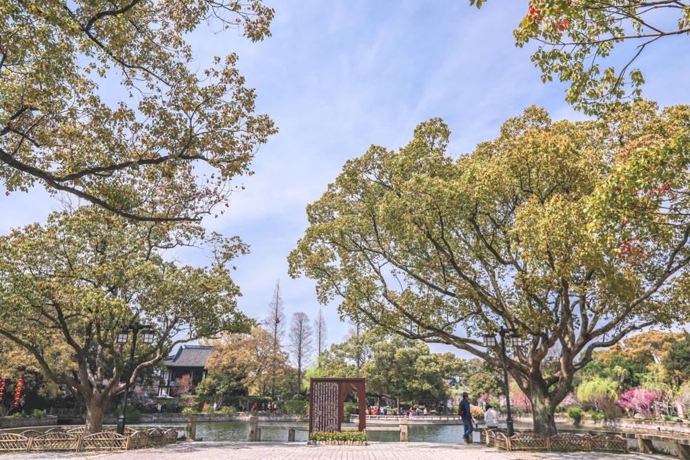 """原创             江苏适合宜居的城市,有一座因""""范蠡""""而得名的园林,春天美如画"""