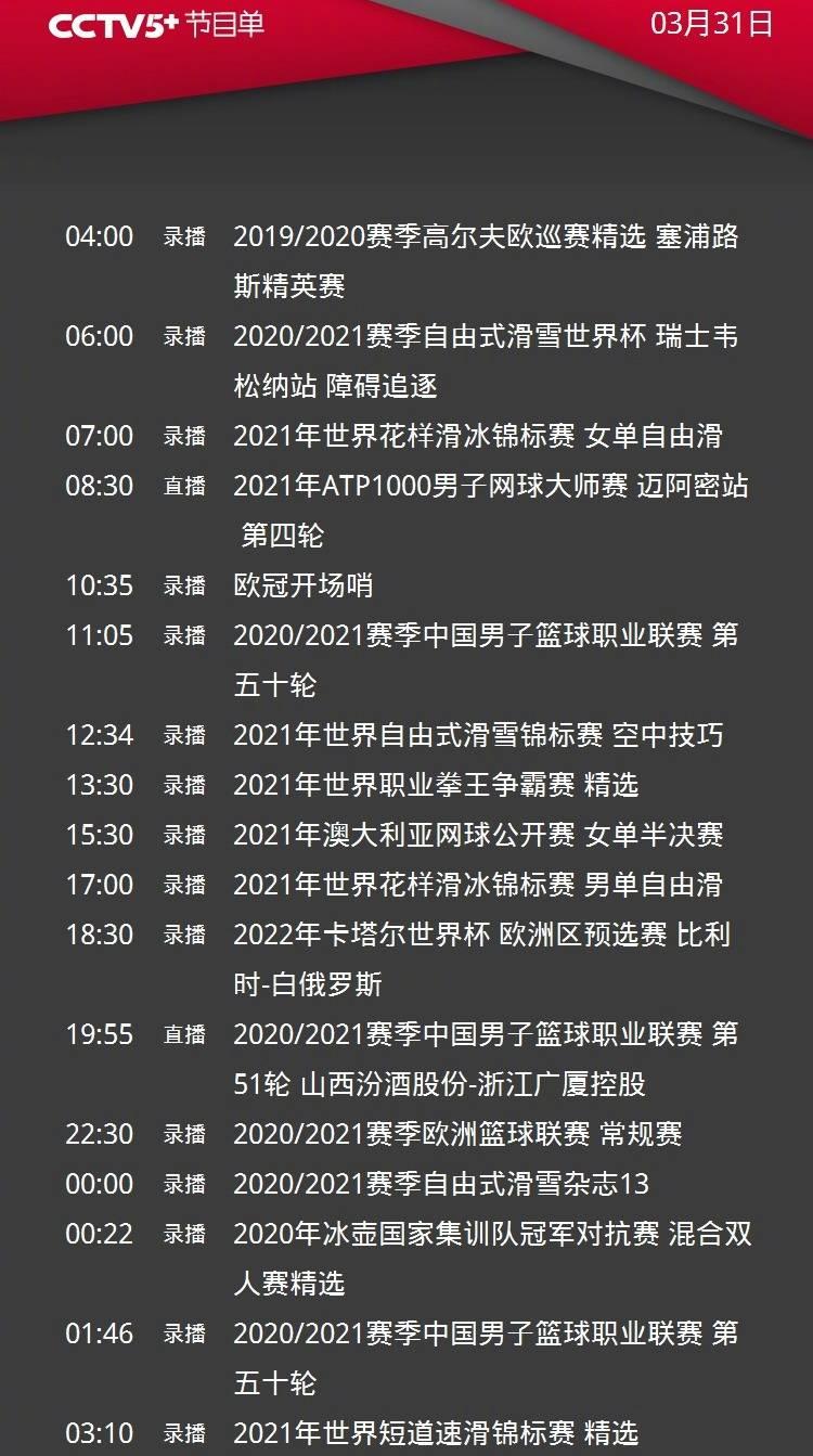 CCTV5直播CBA深圳男篮PK最水总冠军四川+世界杯欧洲区预选赛英格兰男足vs波兰