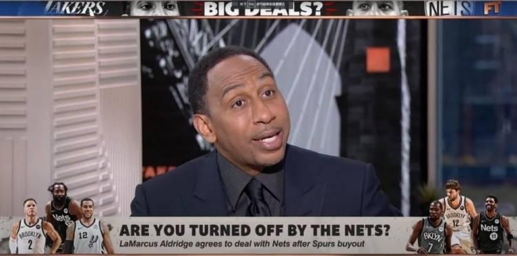 真心话?史密斯谈论阿德加盟篮网:说到底都怪詹姆斯,都是他的错