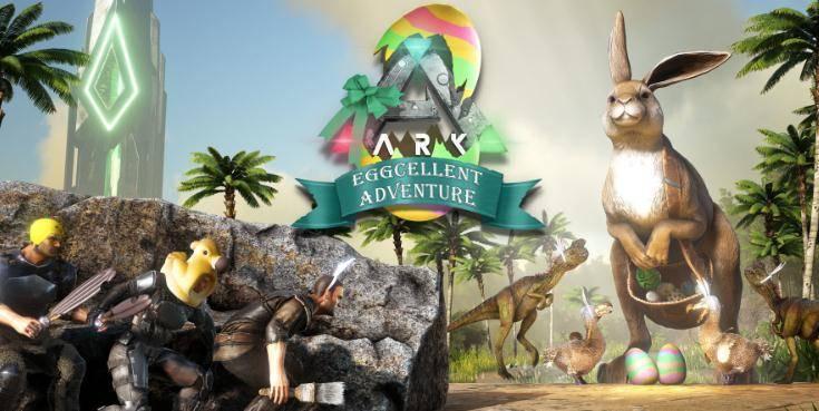 Steam沙盒游戏推荐,《方舟生存进化》复活节是玩家成