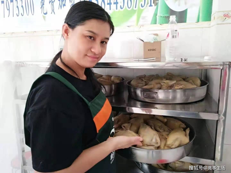 吃货们追捧的网红竹盐鸡飘香壮乡武鸣