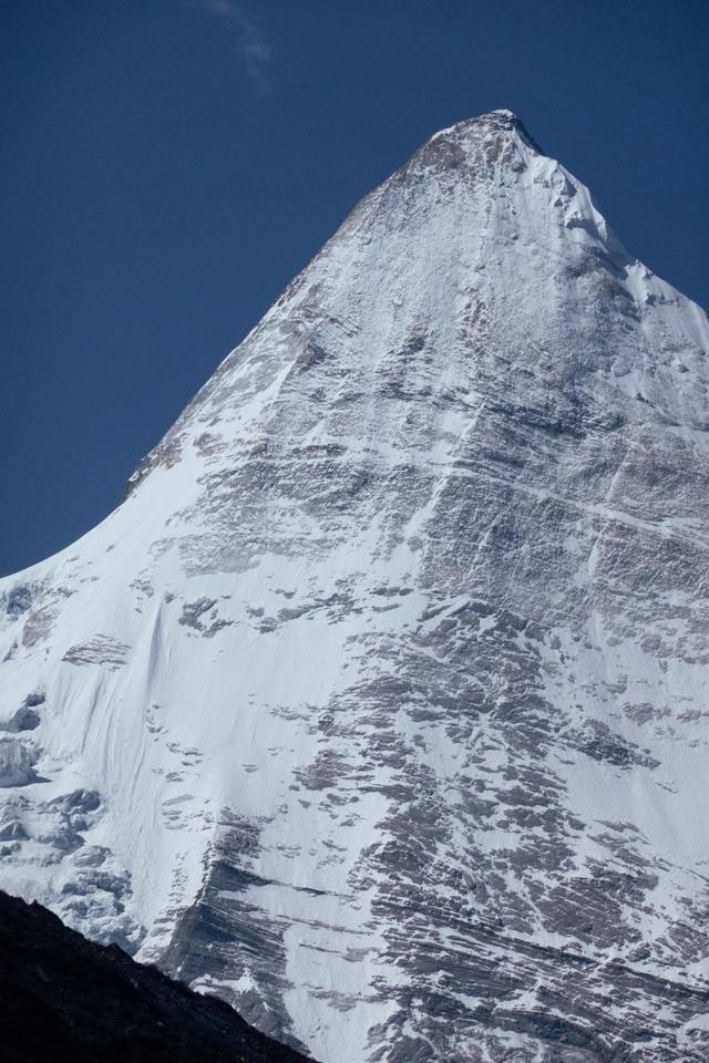 央迈勇雪山,景色壮美,竟然是文殊菩萨的化身