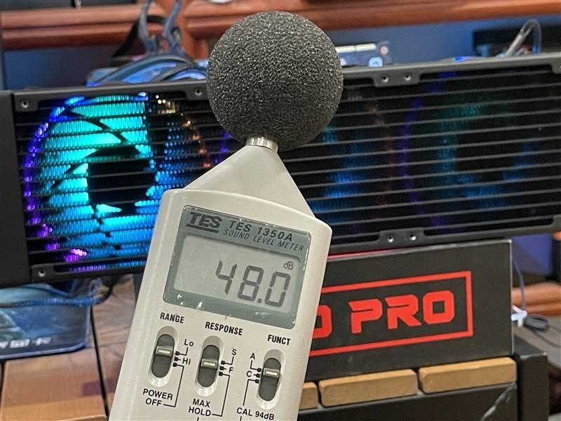 透明ARGB冷头够骚气!酷冷至尊冰神G360幻境评测的照片 - 26