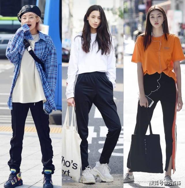 2021韩国小姐姐春季穿搭范本 韩流素人小姐姐穿搭街拍