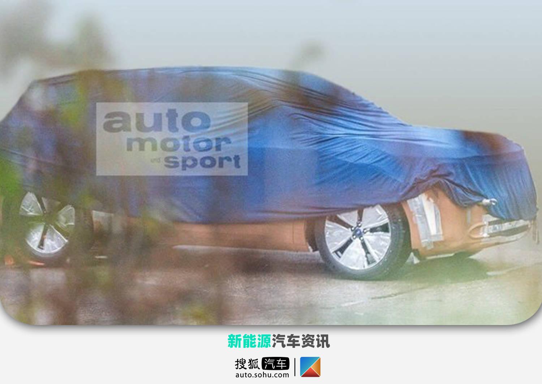 基于MEB平台打造 福特全新纯电SUV谍照曝光