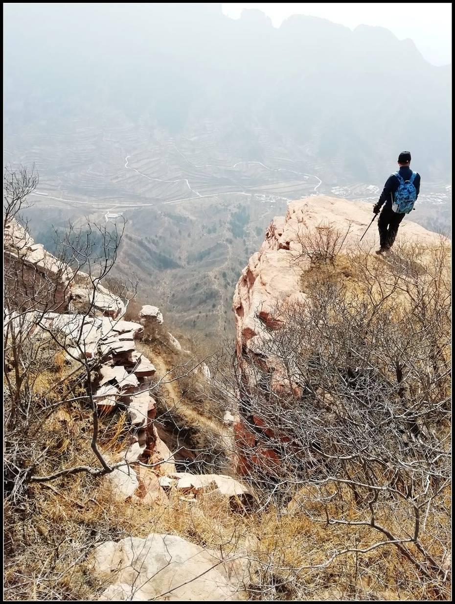 冬日三徒系列之三——找寻十字大裂缝,险行网红牛金寨、4