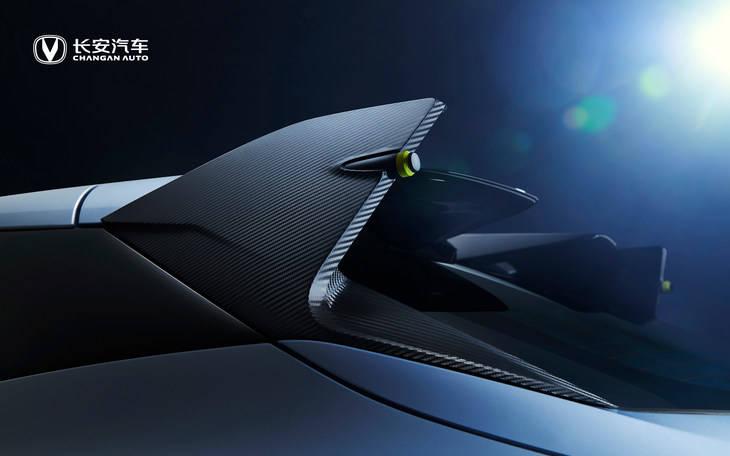 長安UNI-T運動版細節官圖發布 碳纖維加持 運動感爆棚