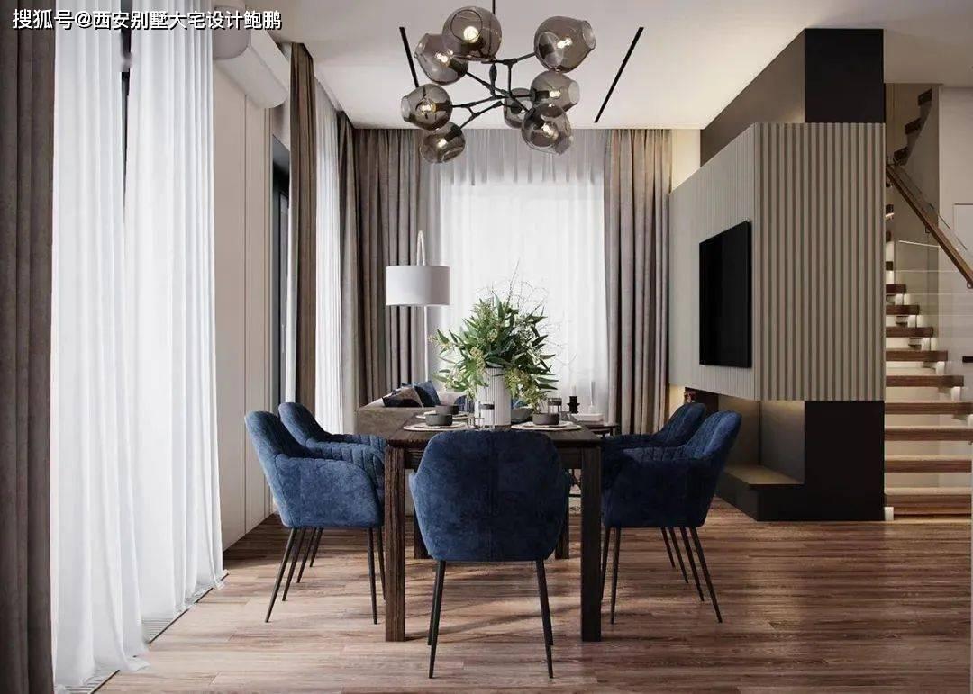 西安别墅大宅设计:154㎡的复式住宅,博亚娱乐登录,明暗交
