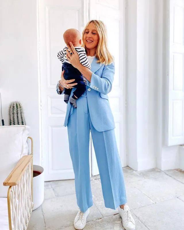 【藍色單品】衣柜里都是藍色單品的好處是什么?搭配的時候太方便