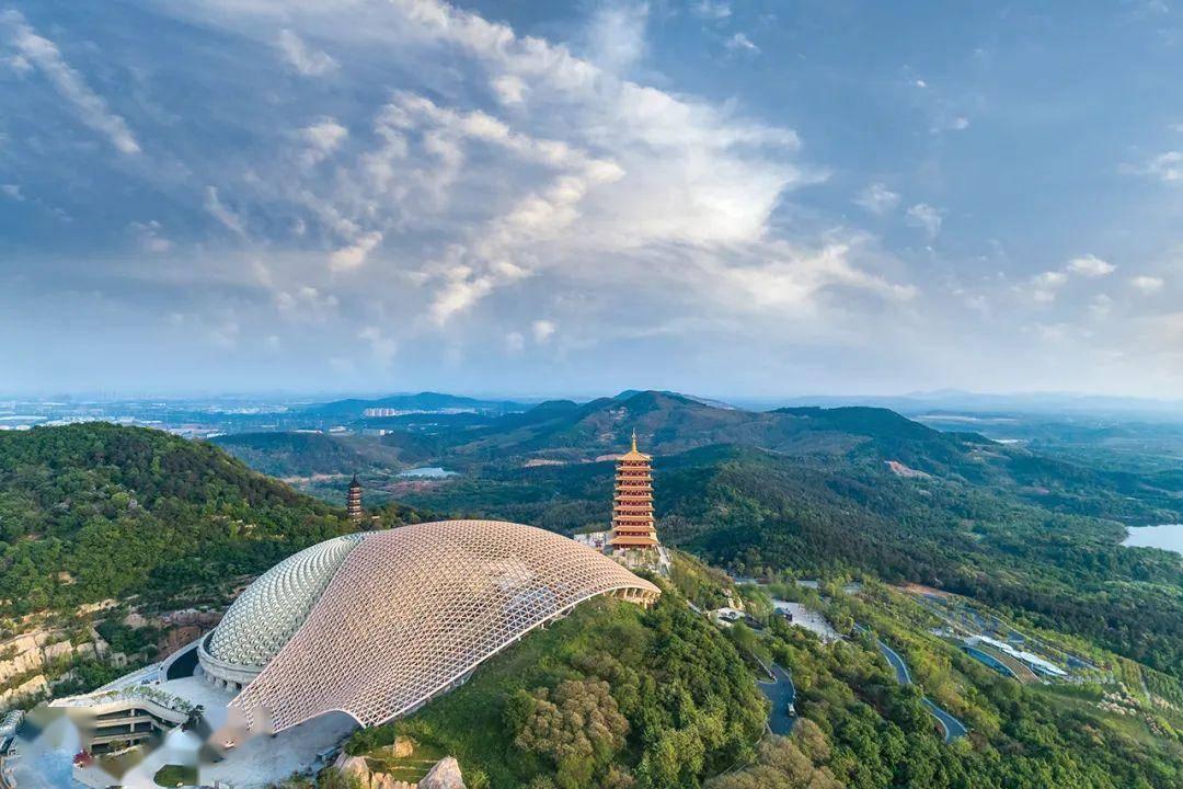 一座牛首山,半部南京史,是金陵四大名胜之一