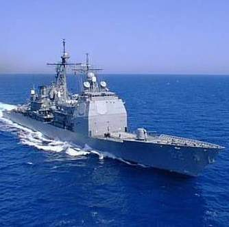 """名震天下:康德罗加号戴有多顶""""桂冠"""":堪称当代最先进的巡洋舰!"""