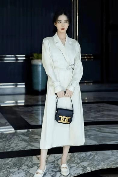 原创             刘诗诗代言升级!新广告穿黑西装变大佬,力压安妮海瑟薇太有排面