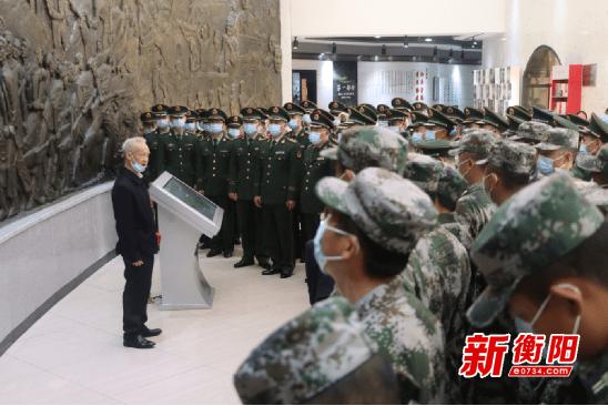 """珠晖区创新方式 """"望、闻、问、切""""做好新兵"""