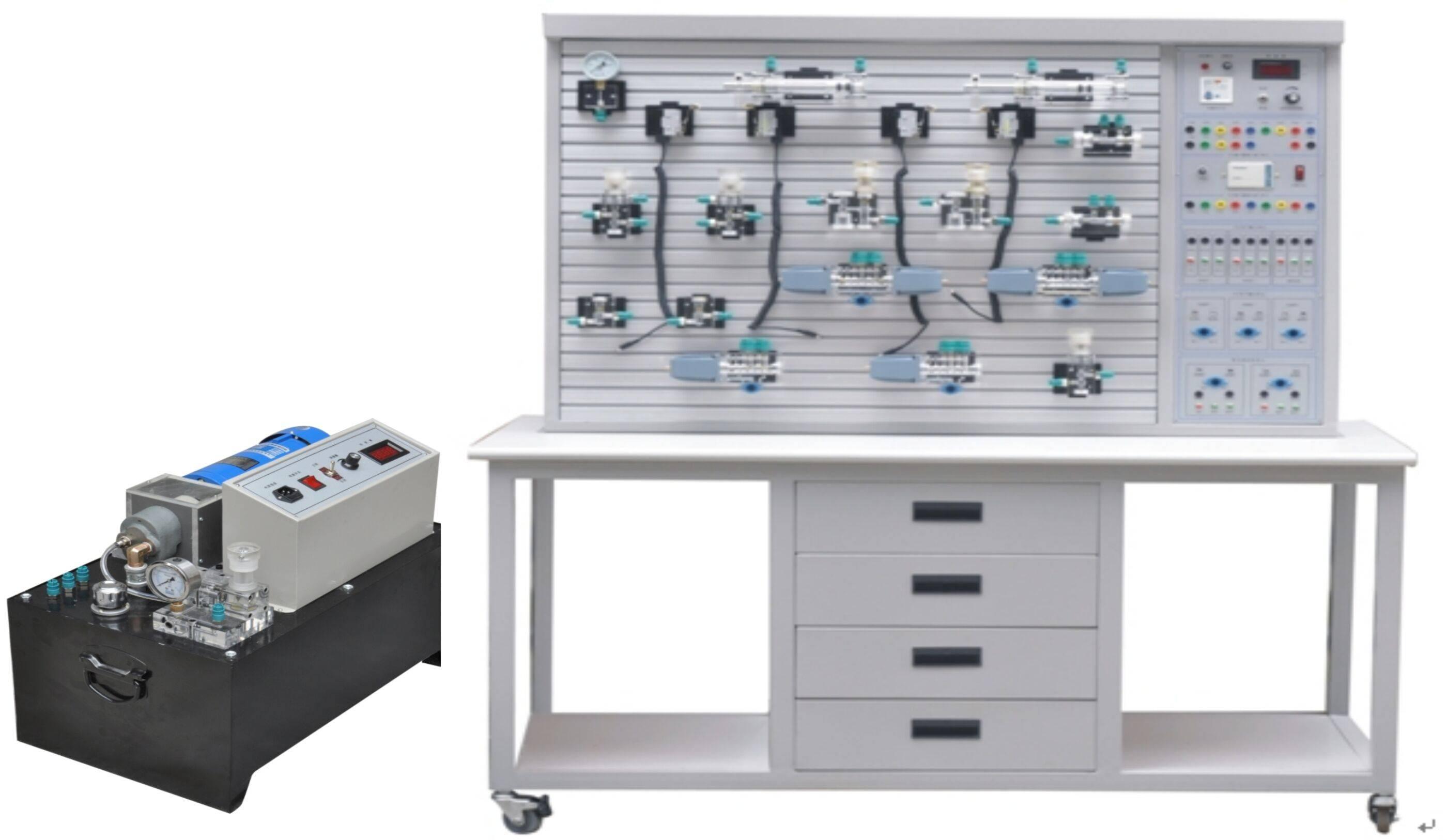 中央空调没清洗过全透明液压传动系统综合性实践设备