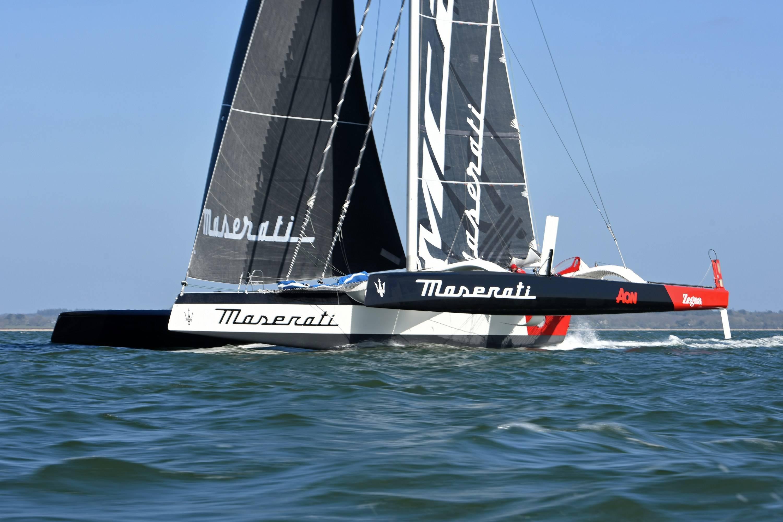 """""""玛莎拉蒂号""""Multi 70三体帆船携手索迪尼船长再夺桂冠"""