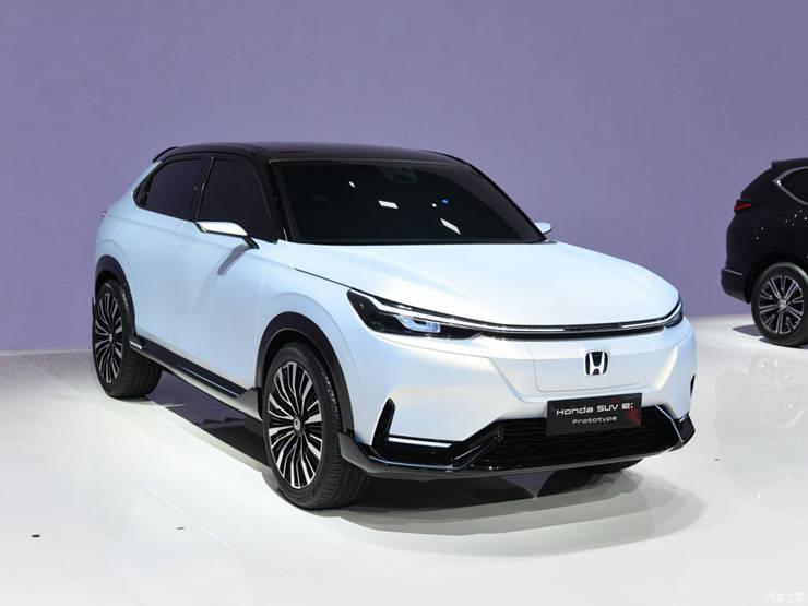 电动版本田HR-V渲染图曝光_车型