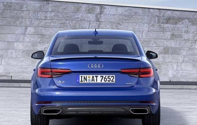 奥迪全新A4官图发布,外观小改,旅行版车型也曝光