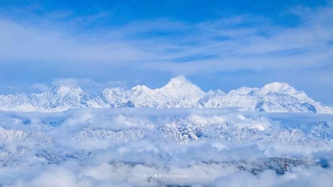 原创             王岗坪|成都周边又发现一处看贡嘎雪山的秘境
