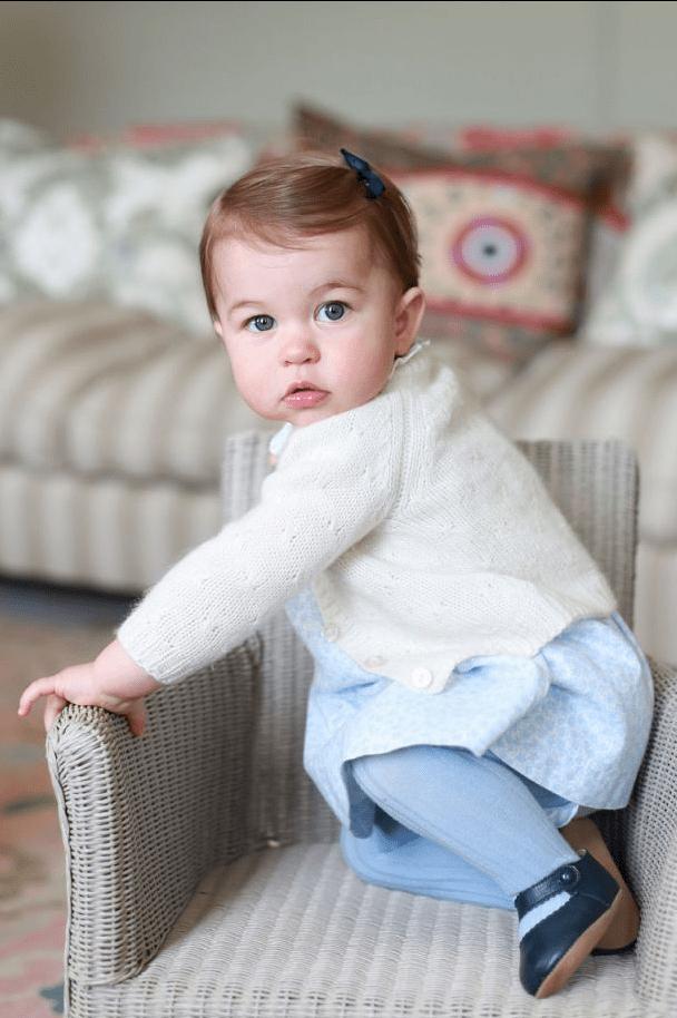 了解一下漂亮的夏洛特小公主,她成长的过程有多可爱
