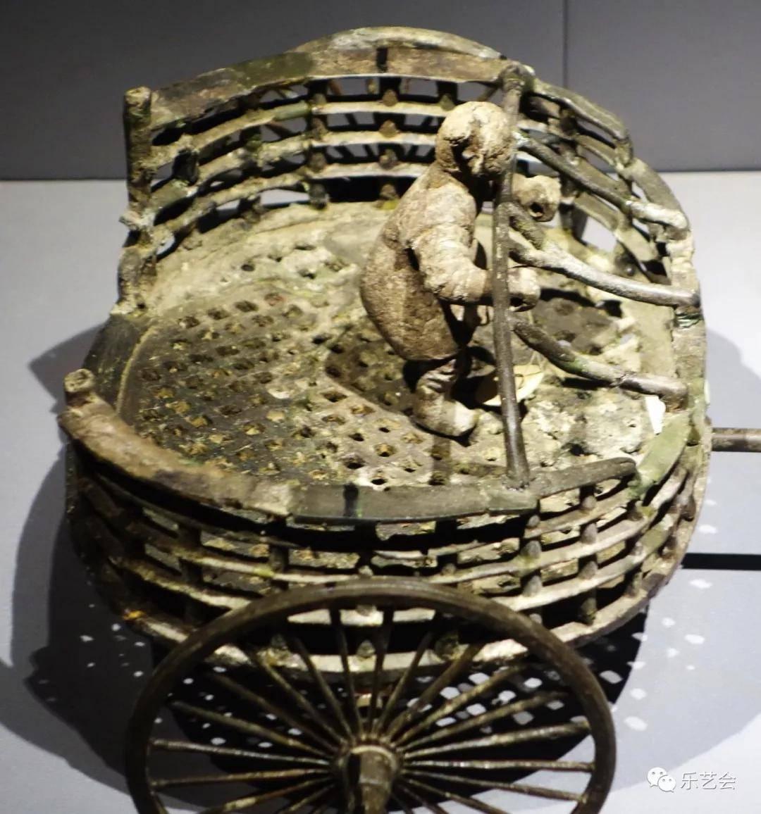 战国晚期青铜车马俑:南博青铜器巡礼之五
