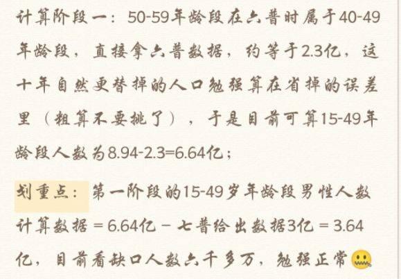 中国人口性别比例_中国第一人口大省:人口数量超1亿,男女比例失调十分严重