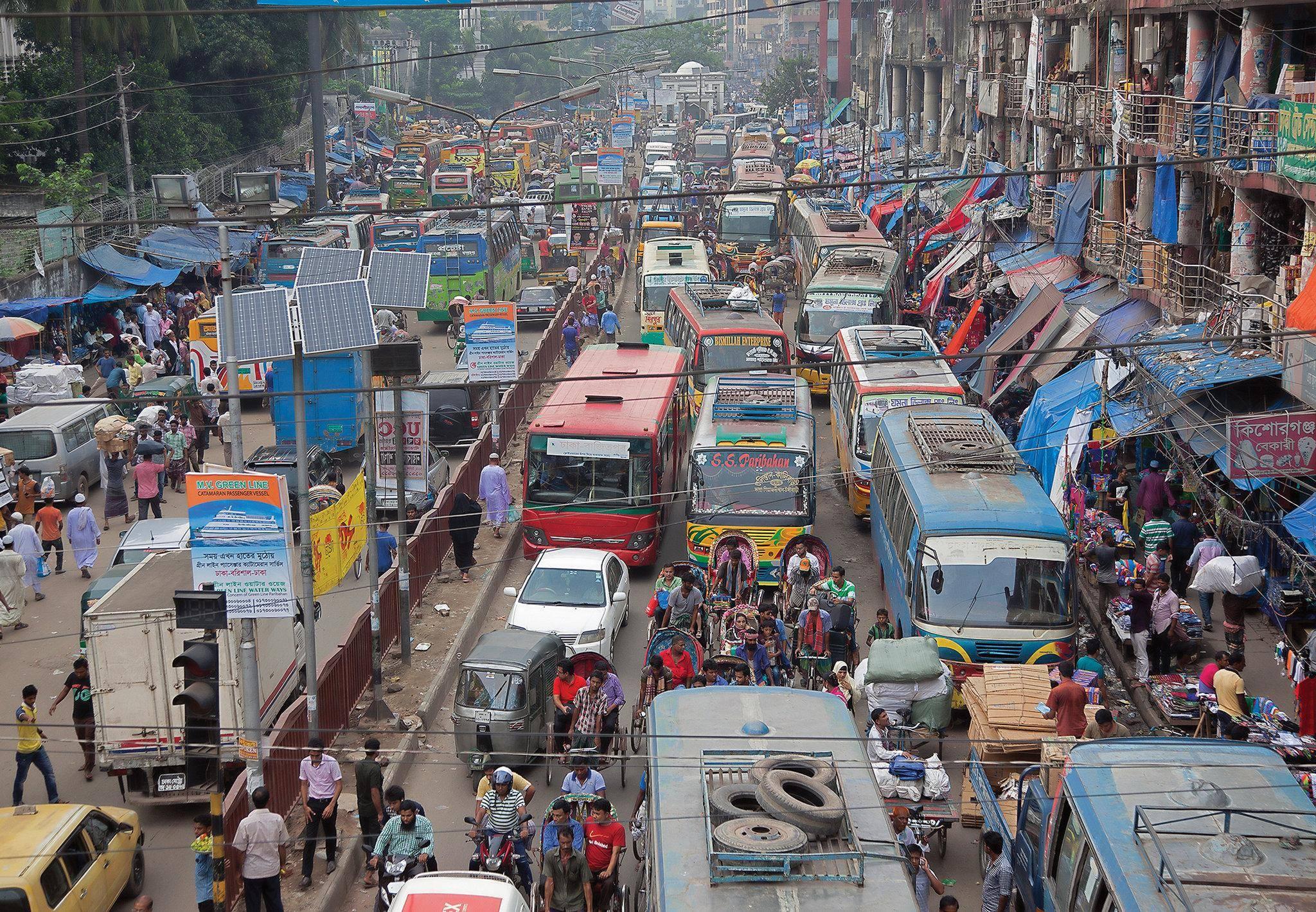 地球上的人口_世界上最拥挤的国家!