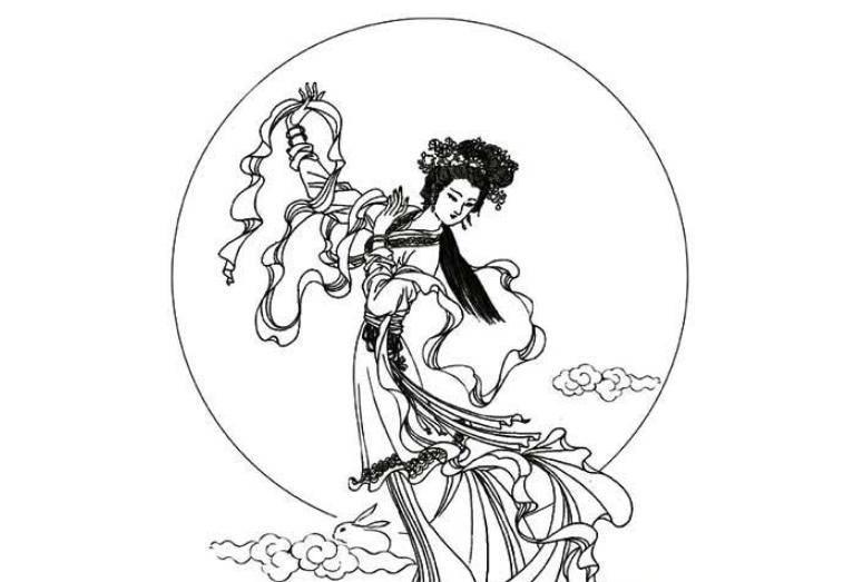 """图片[1]-12位嫦娥谁最美?她最颠覆仙女形象,堪称""""婊里婊气""""-妖次元"""