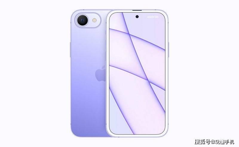 苹果iPhone SE Plus渲染图曝光:打孔屏+后置单摄像头,配色多_设计