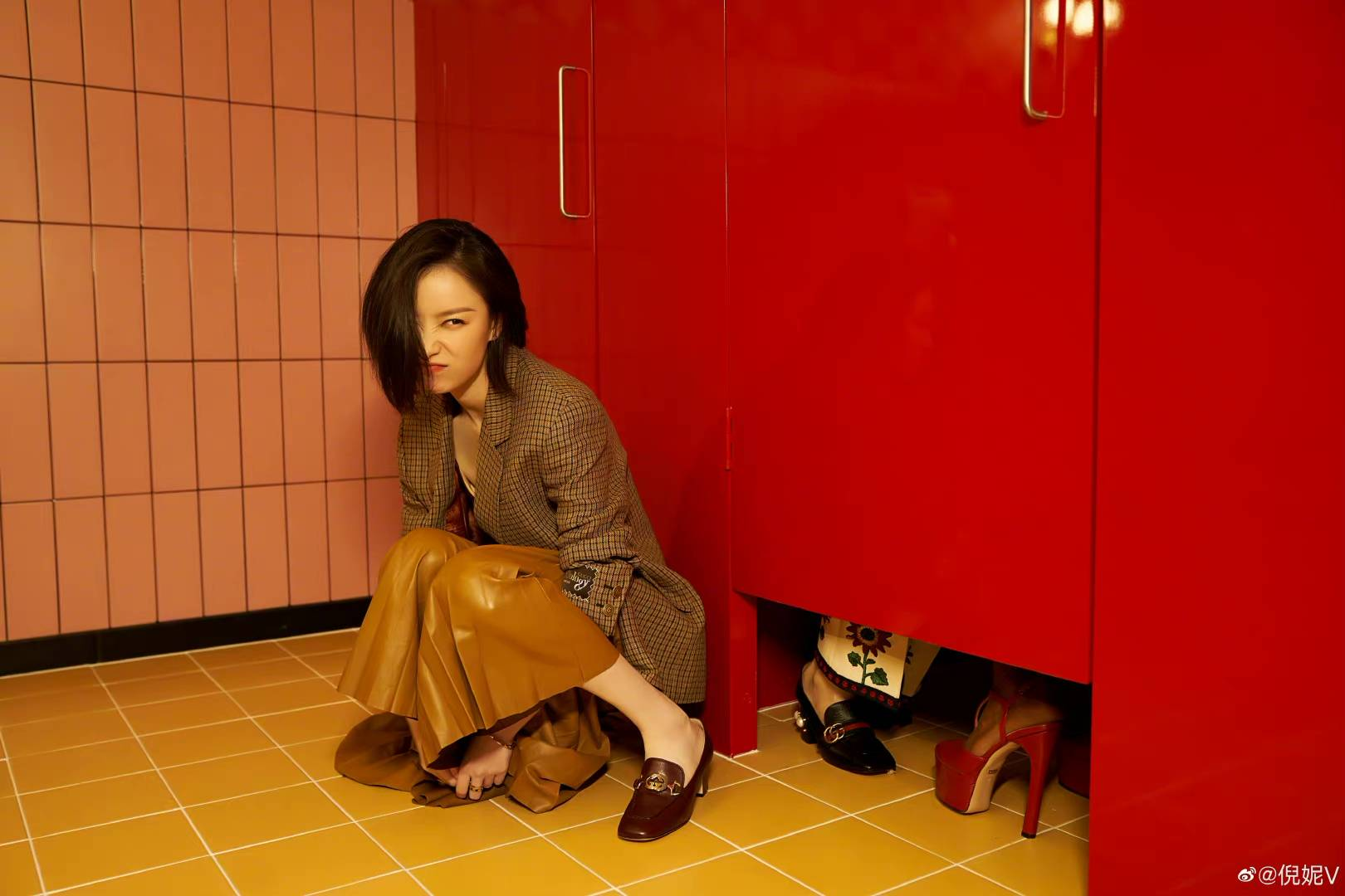 图片[3]-好好一场时尚盛宴,成了土菜馆大拼盘,倪妮、刘雯都靠底子撑-妖次元