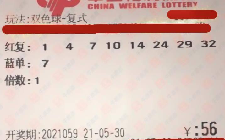 双色球21059期晒票,单式票与复式票齐聚一堂,谁能脱颖而出