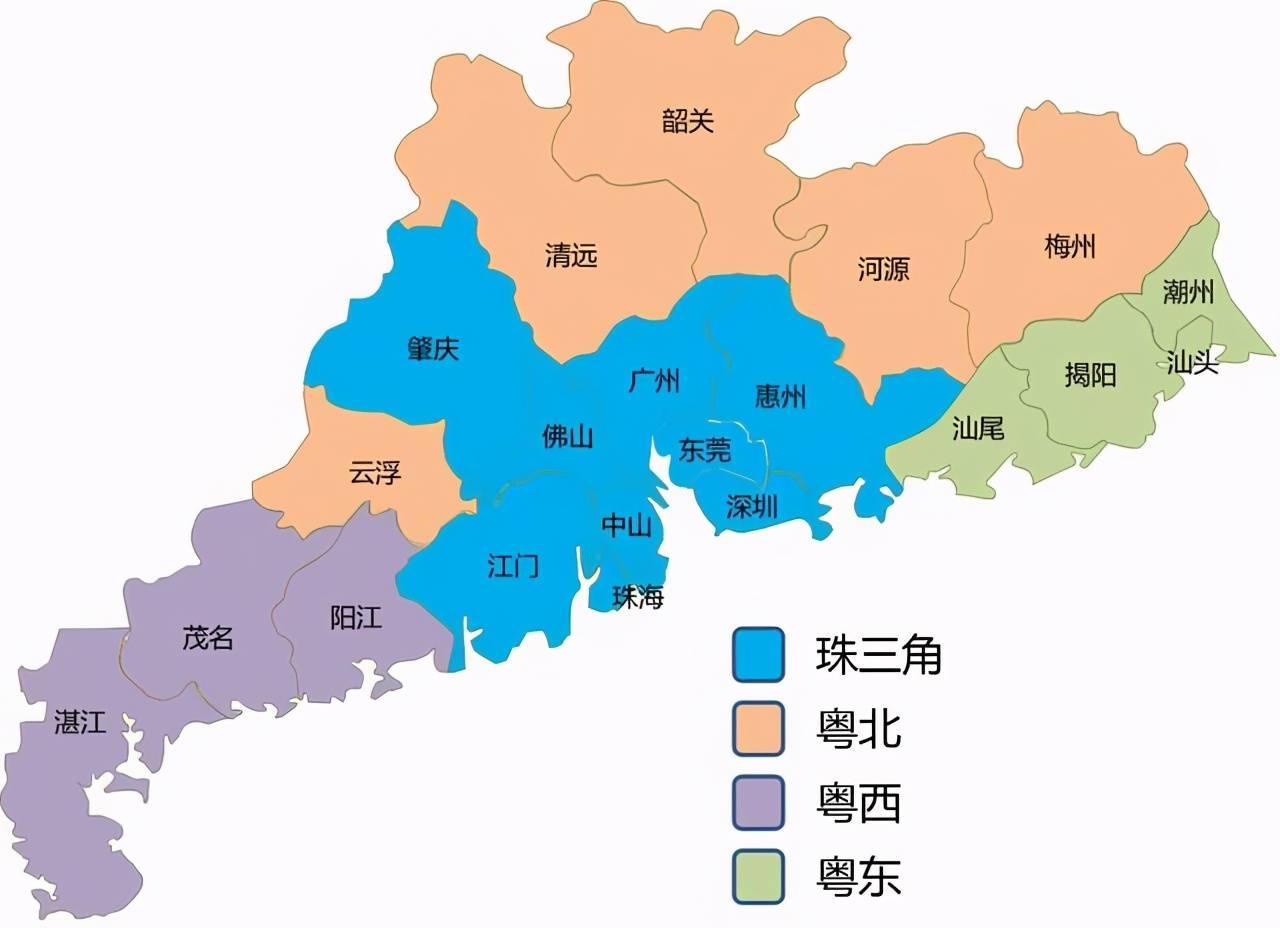 广东人均GDP不敌江苏、浙江,全省2/3地市人均GDP低于全国平均水平