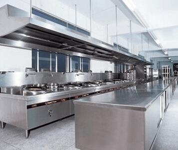 华厨厨房设备:佛山商用厨房设计布局原则