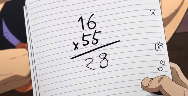 动漫爱好者才懂含义的数学题:1000-7=? 六七一十三 梅花有五瓣