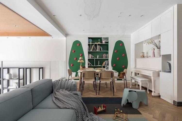 现代简约的别墅设计,从进门就与众不同,父母回到家大不一样了
