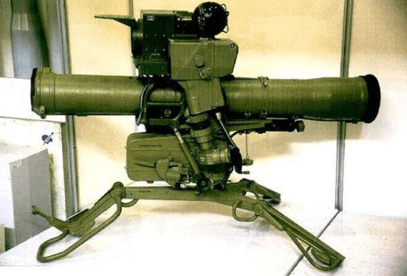 俄罗斯第二代反坦克导弹:AT-4反坦克导弹有多强,其破甲厚度超过400毫米