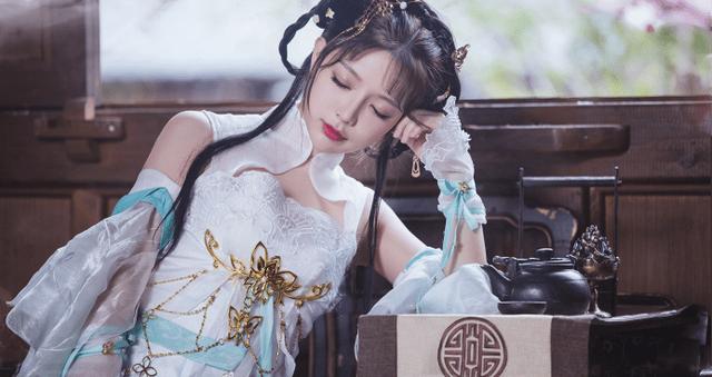 图片[9]-国内第一清纯萝莉王奕萌,古风COS大秀事业线,因着装暴露被喷惨-妖次元