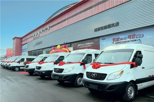 国六版江淮星锐节油王上市,全面满足节油轻客的用车需求