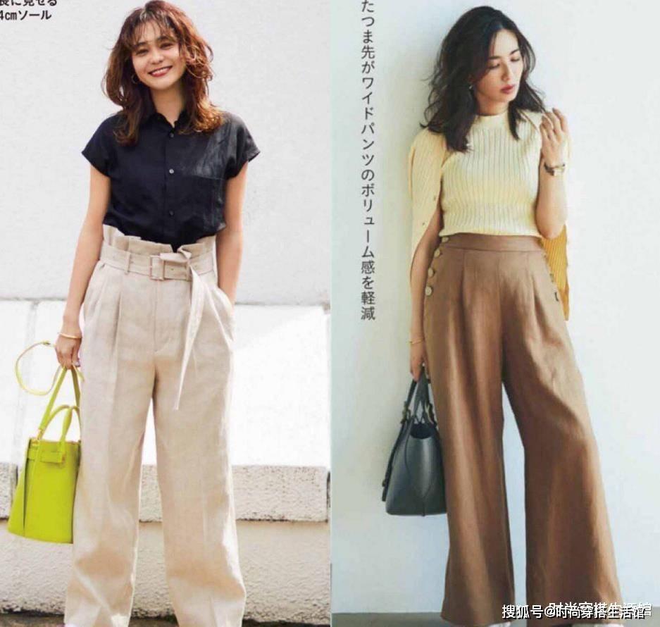 中年女人夏天穿什么裤子才好看?试试这几种单品时髦显瘦又好穿