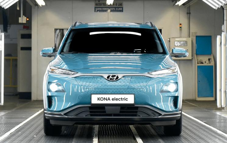 南韓現代KONA電動汽車自燃起火,南韓市場已停售